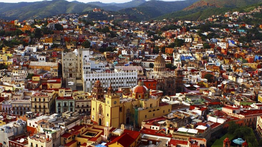 Guanajuato MEXICO -- CHICAGO SYMPHONY ORCHESTRA TRIPS ** TCN OUT ** ORG XMIT: 1K4NOPUG