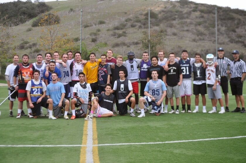More than 100 local boys lacrosse players took part in last month's Carlsbad Classic at Pacific Ridge School. Proceeds from the event, totaling more than $2,000, were donated to the San Diego Autism Research Institute.