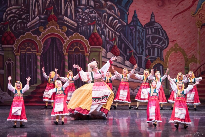 "Southern California Ballet's production of ""The Nutcracker"" is virtual this year."