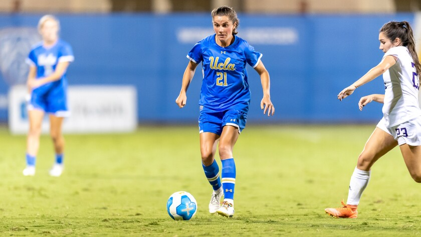 UCLA star Jessie Fleming was a standout in several sports before deciding to focus on soccer.