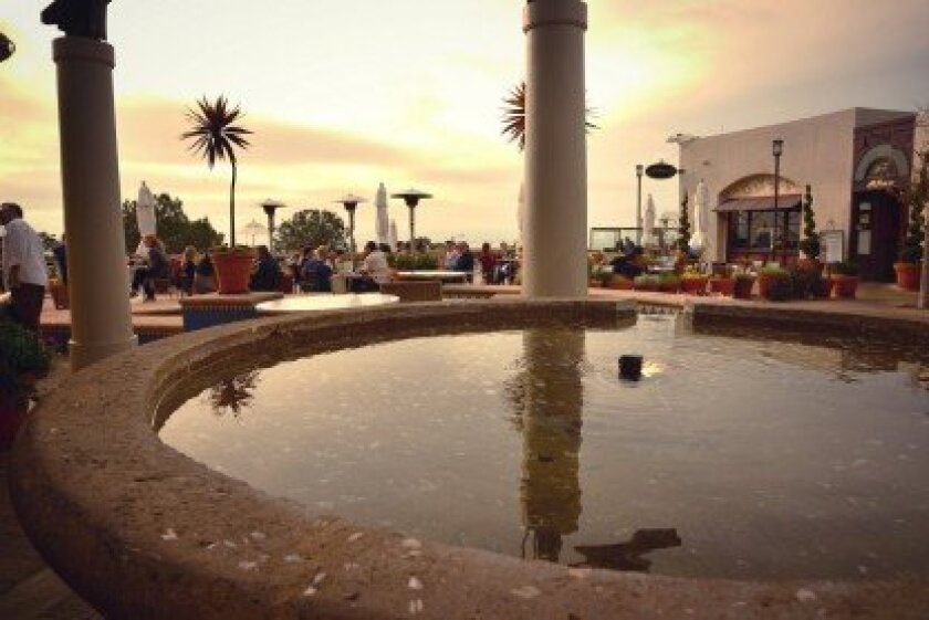 Del Mar Plaza Ocean View Deck. Courtesy photo