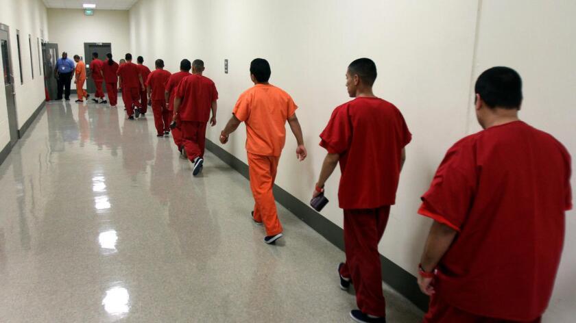 Foto de archivo del Centro de Detención de Inmigrantes de Adelanto, California.
