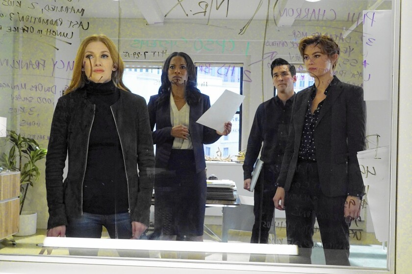 Review:  Mireille Enos rises about the misses and makes the new Shondaland series 'The Catch' look good