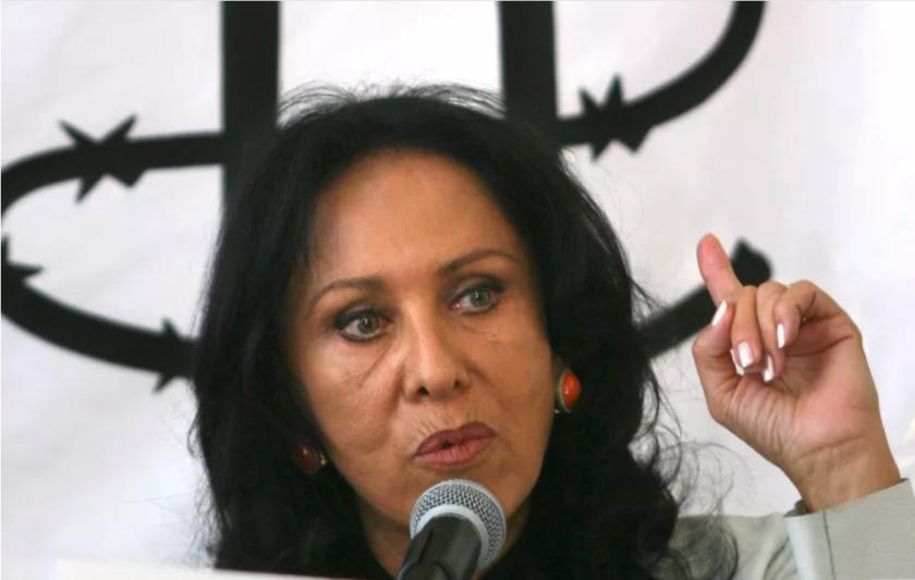 La actriz y activista mexicana Lilia Aragón. EFE/Archivo