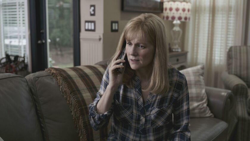 """This image released by Warner Bros. Pictures shows Laura Linney in a scene from """"Sully."""" (Warner Bro"""