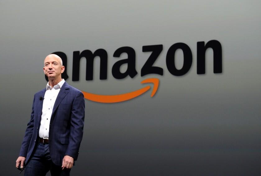 Amazon Chief Executive Jeff Bezos in 2012.