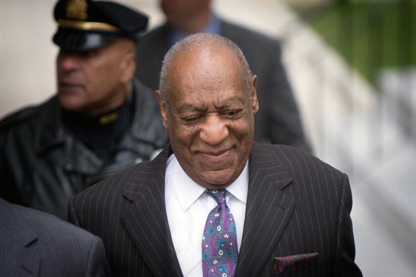 El comediante estadounidense Bill Cosby llega al juzgado de Montgomery, Norristown, Estados Unidos, el 9 de abril del 2018, donde se celebra un juicio contra él por agresión sexual a una mujer en 2004. EFE
