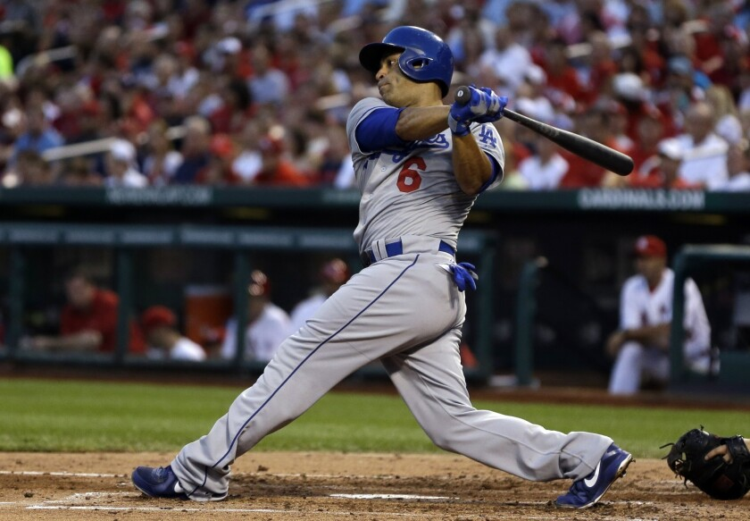 Jerry Hairston Jr. has been with the Dodgers for two seasons but might end up left off the playoff roster.