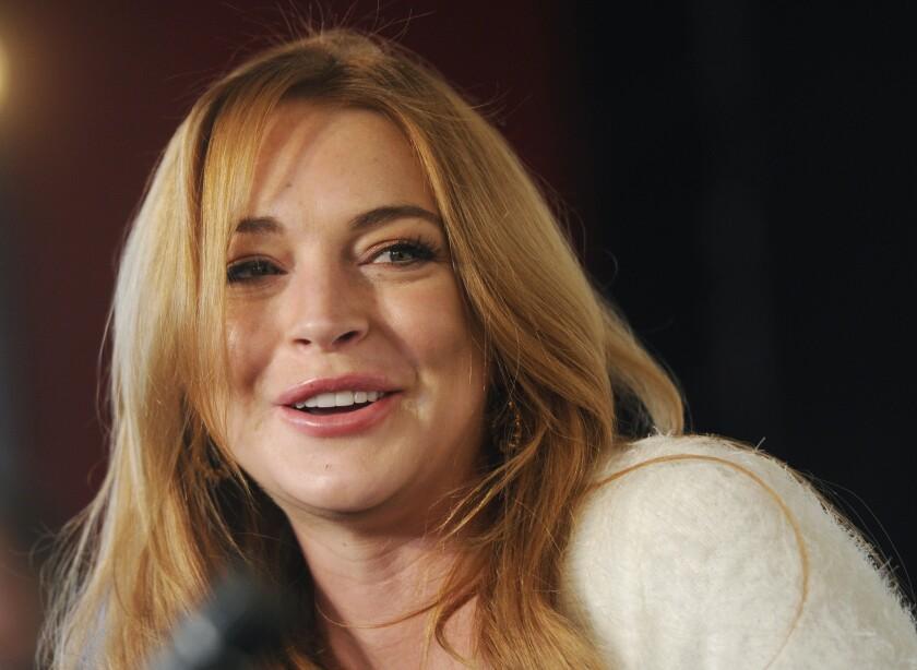 Lindsay Lohan is opening up about her new boyfriend, Egor Tarabasov.
