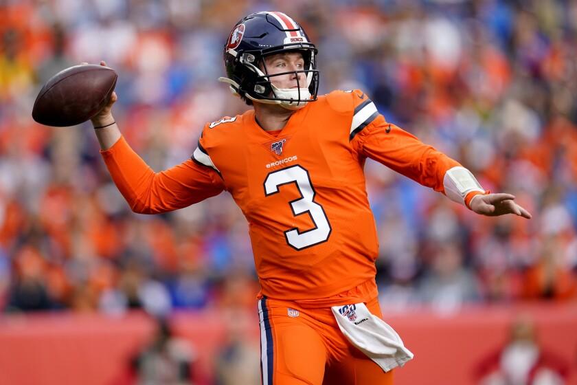 Lions Broncos Football