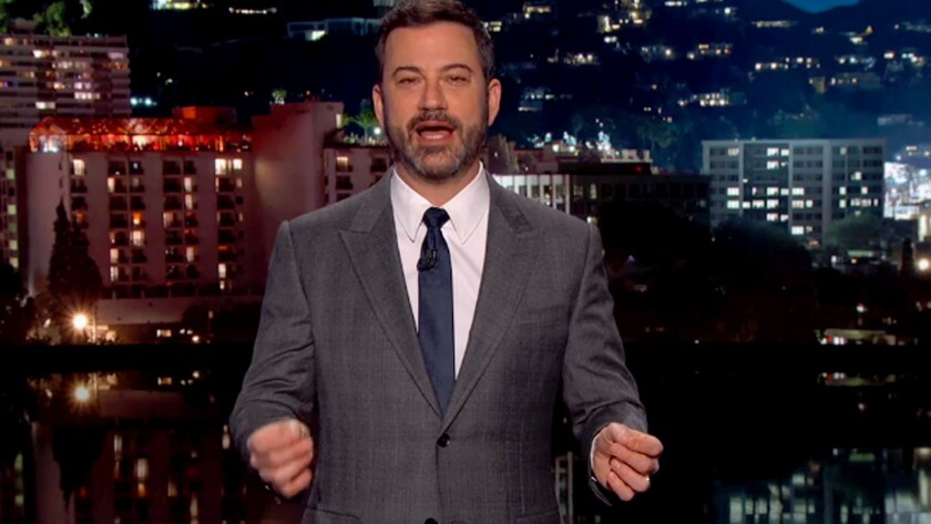 Jimmy Kimmel's defensive, strangely specific apology isn't enough.
