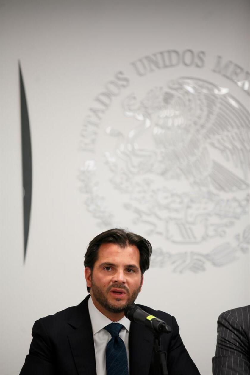 El secretario de Medio Ambiente,Rafael Pacchiano. EFE/Archivo