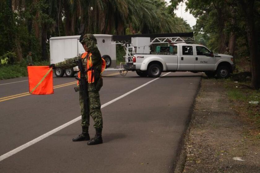 México prevé tener 1.200 miembros de Guardia Nacional esta semana en Chiapas