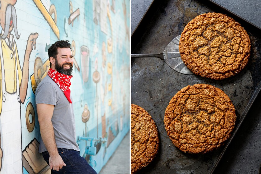 Brad Ray's deeply spiced, fresh ginger and molasses cookies.