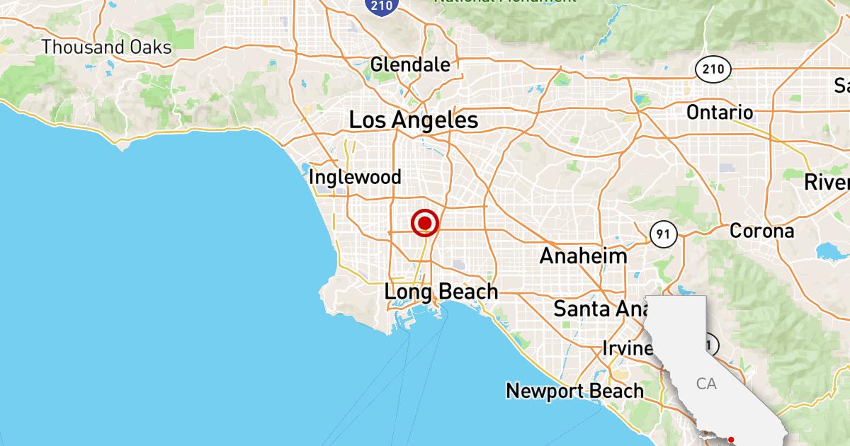 Erdbeben: 2.6 Beben in Compton