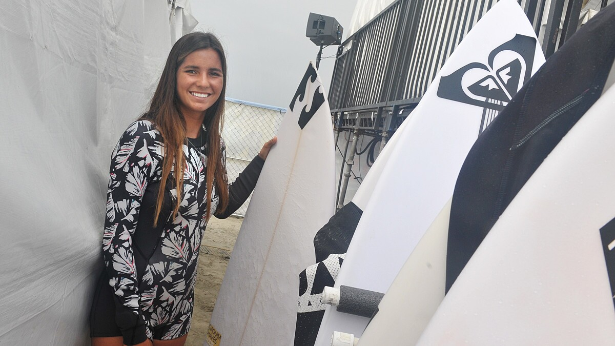 Surf fans at the Paul Mitchell Supergirl Pro witnessed action in and out of the water, with surf competitions, live concerts, giveaways and more in Oceanside on July 27 and 28, 2018.