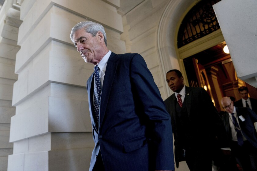 Robert Mueller's office has referred the allegations to the FBI for investigation.