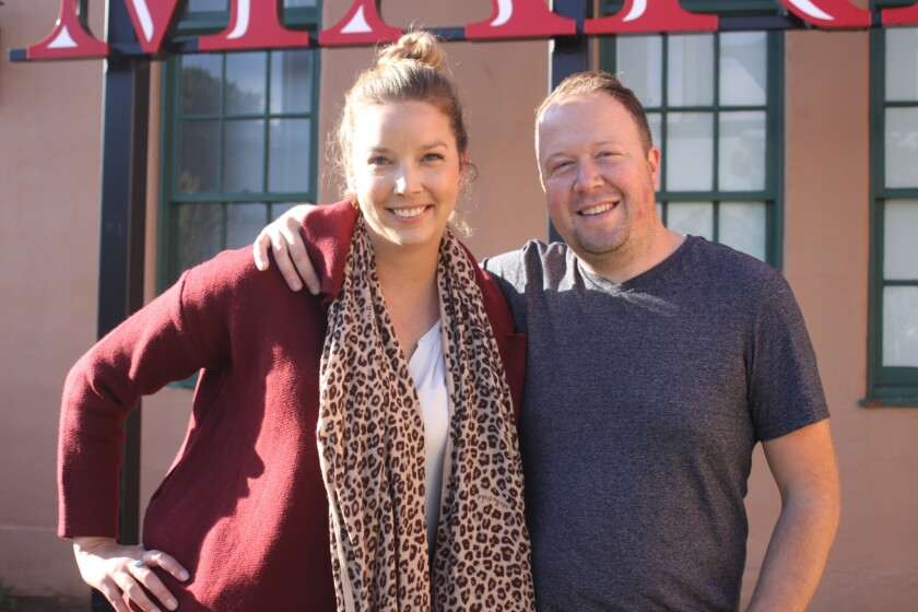 Roast co-owner Maryanne Carmack and husband Ryan McGregor.