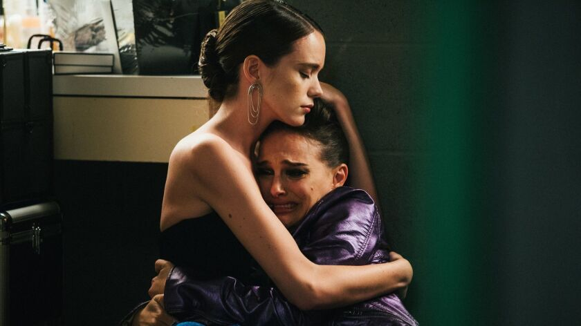 "(L-R) - Stacy Martin and Natalie Portman in a scene from the movie ""Vox Lux."" Credit: Atsushi Nishij"