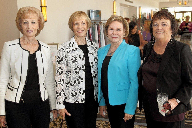 Cheryl Hilborn, Judy Wickman, Charlotte Jones, Sharon Ferges