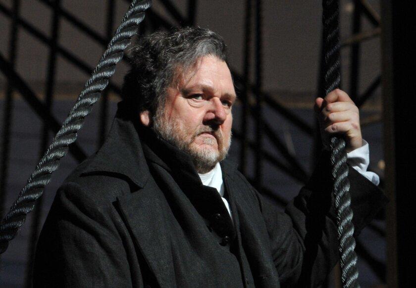 "Ben Heppner as Ahab in the Dallas Opera's ""Moby-Dick"""