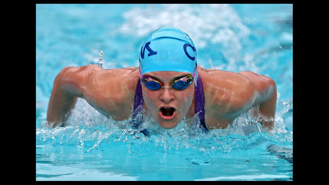 Photo Gallery: Locals compete in CIF SS Div 1 swim championships