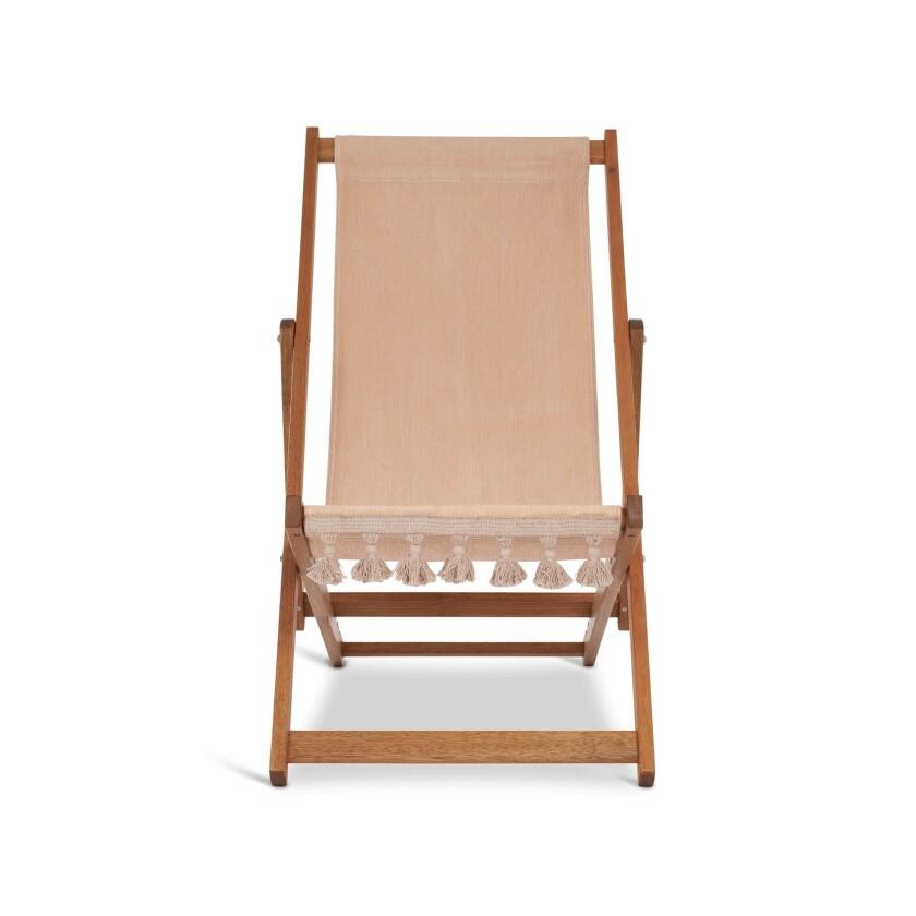 Soho Home deck chair