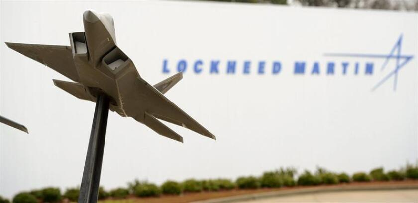 The entrance to a Lockheed Martin aircraft manufacturing plant in Marietta, Georgia, USA. EFE/EPA/FILE
