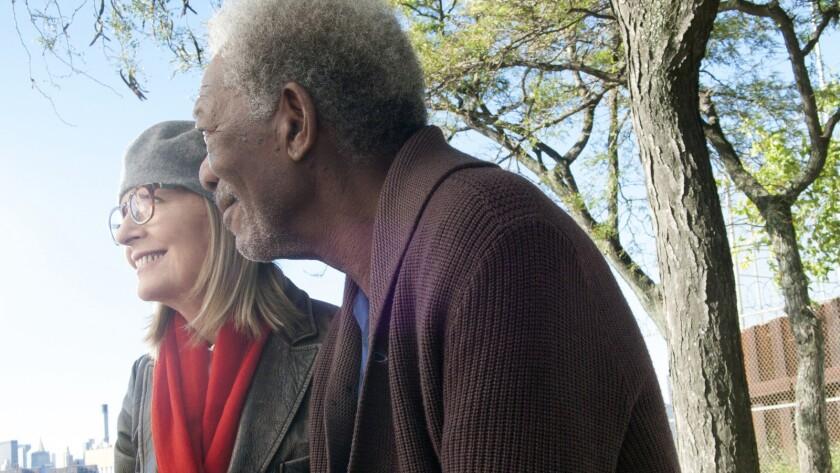 "That ""5 Flights Up"" exists and stars acting treasures Diane Keaton and Morgan Freeman feels like a minor miracle."