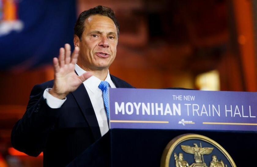 El gobernador de Nueva York, Andrew Cuomo, ofrece un discurso. EFE/Archivo
