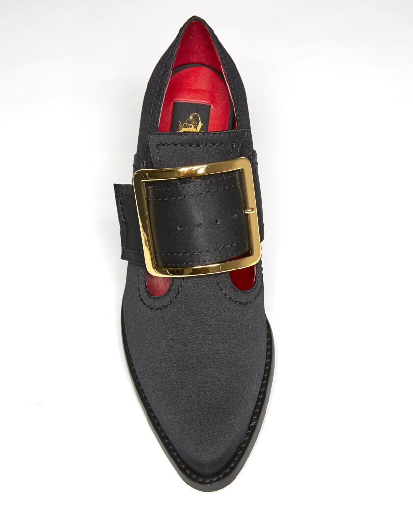 The Coven I buckle shoe from the vegan Von D Shoes line.