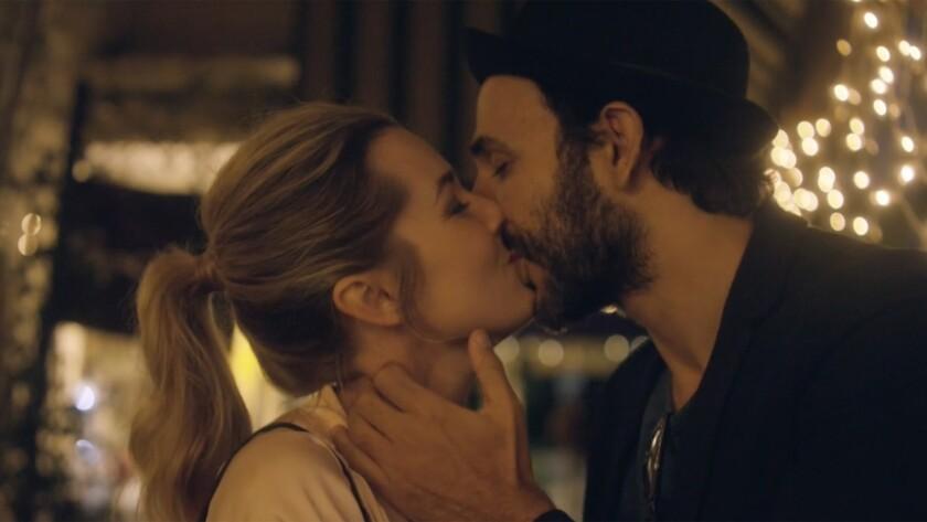 """Anna Margaret Hollyman and Amir Arison in the movie """"20 Weeks."""""""