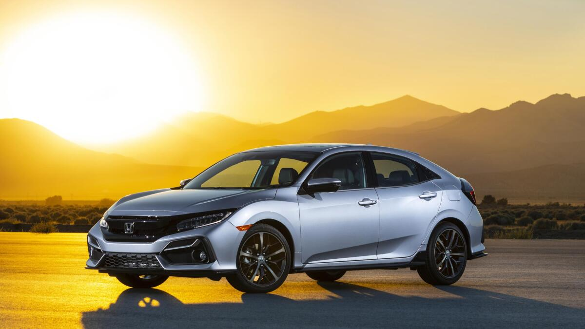 2020 Honda Civic Hybrid Spy Shoot