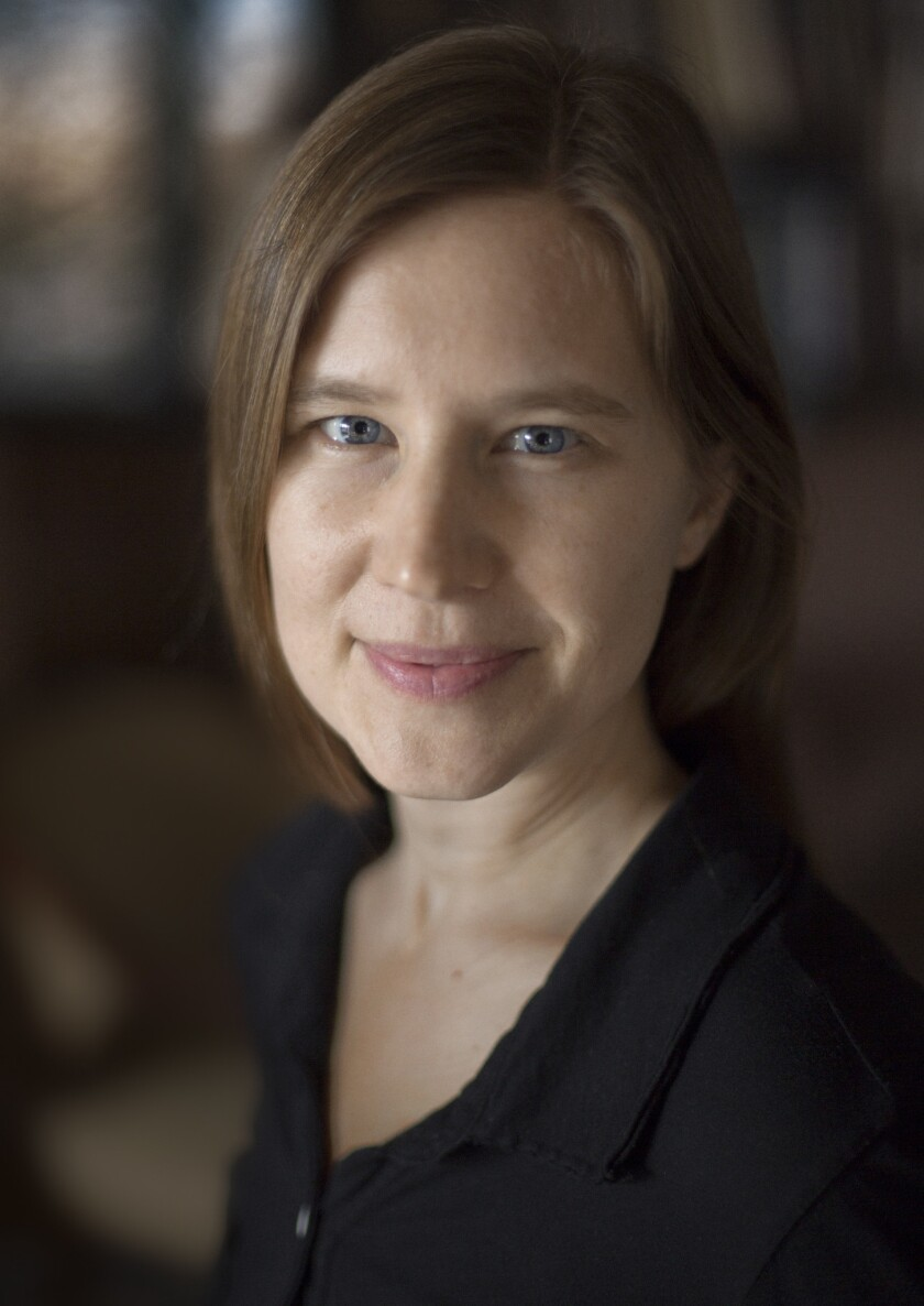 "An author photo of Eula Biss for her book ""Notes From No Man's Land: American Essays."" Credit: Gray"