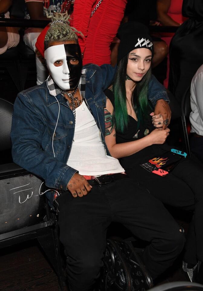 XXTentacion attends the BET Hip Hop Awards 2017 at The Fillmore Miami Beach on October 6, 2017 in Miami Beach, Florida.