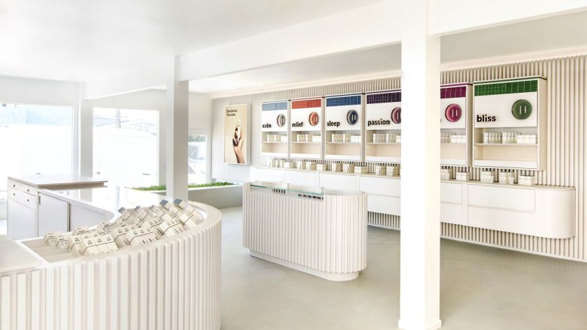 Dosist - The Los Angeles-based cannabis wellness brand opened an 800 square foot store in Venice on