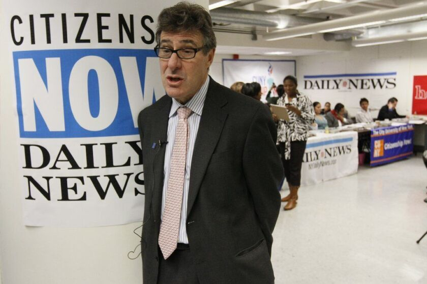 New York Daily News Columnist Allan Wernick.