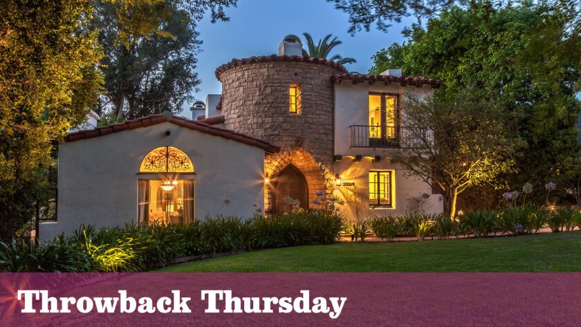 The Spanish Revival-style home in Hollywood Hills was built for silent film actress Agnes Ayres in the 1930s.