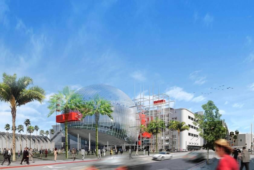 Motion Picture Academy unveils ambitious plans for film museum