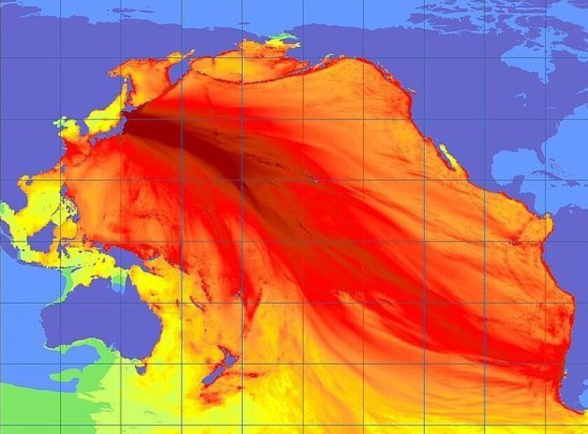 The 9.0 quake that occurred of Japan in March 2011 produced a tsunami that sent energy throughout the Pacific basin.