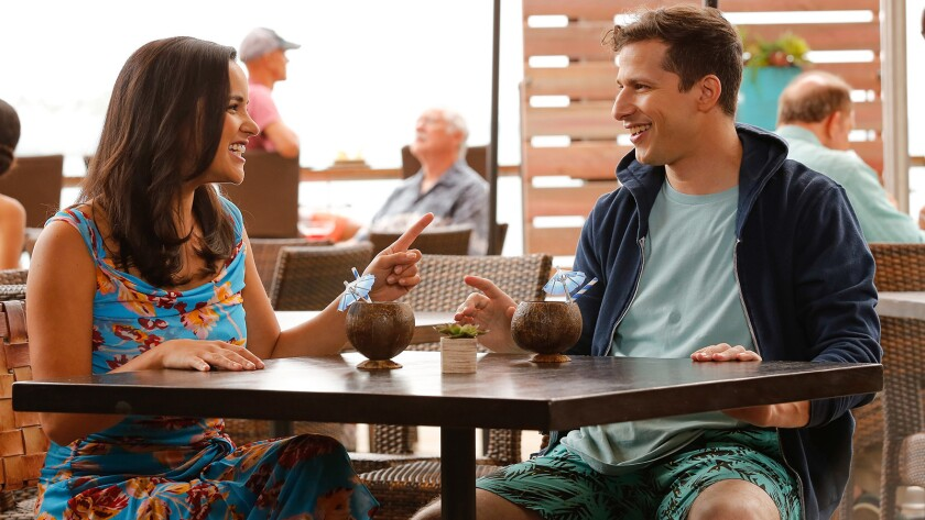"""The honeymoon is over pretty quickly as the police comedy """"Brooklyn Nine-Nine"""" premieres a new season on NBC. With Amy Santiago and Andy Samberg."""
