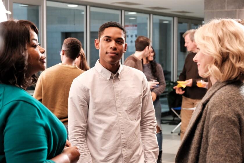 "Octavia Spencer, Kelvin Harrison Jr. and Naomi Watts in a scene from ""Luce."""