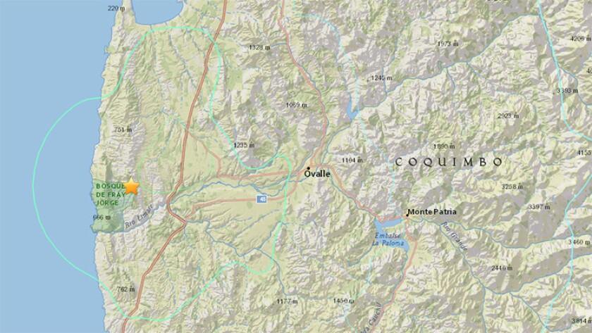 Sismo de magnitud 6,3 remece Chile; no se reportan daños