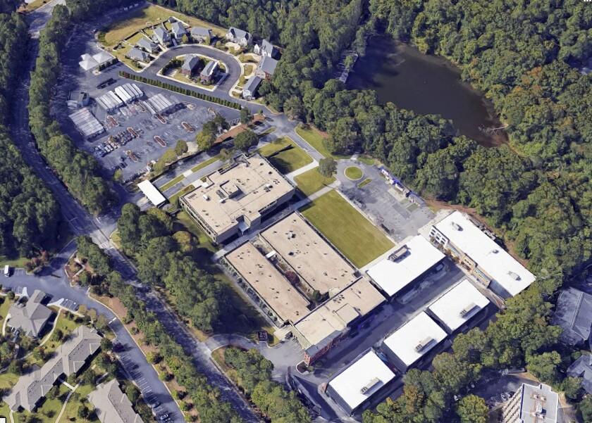 Aerial view of Areu Bros.Studios