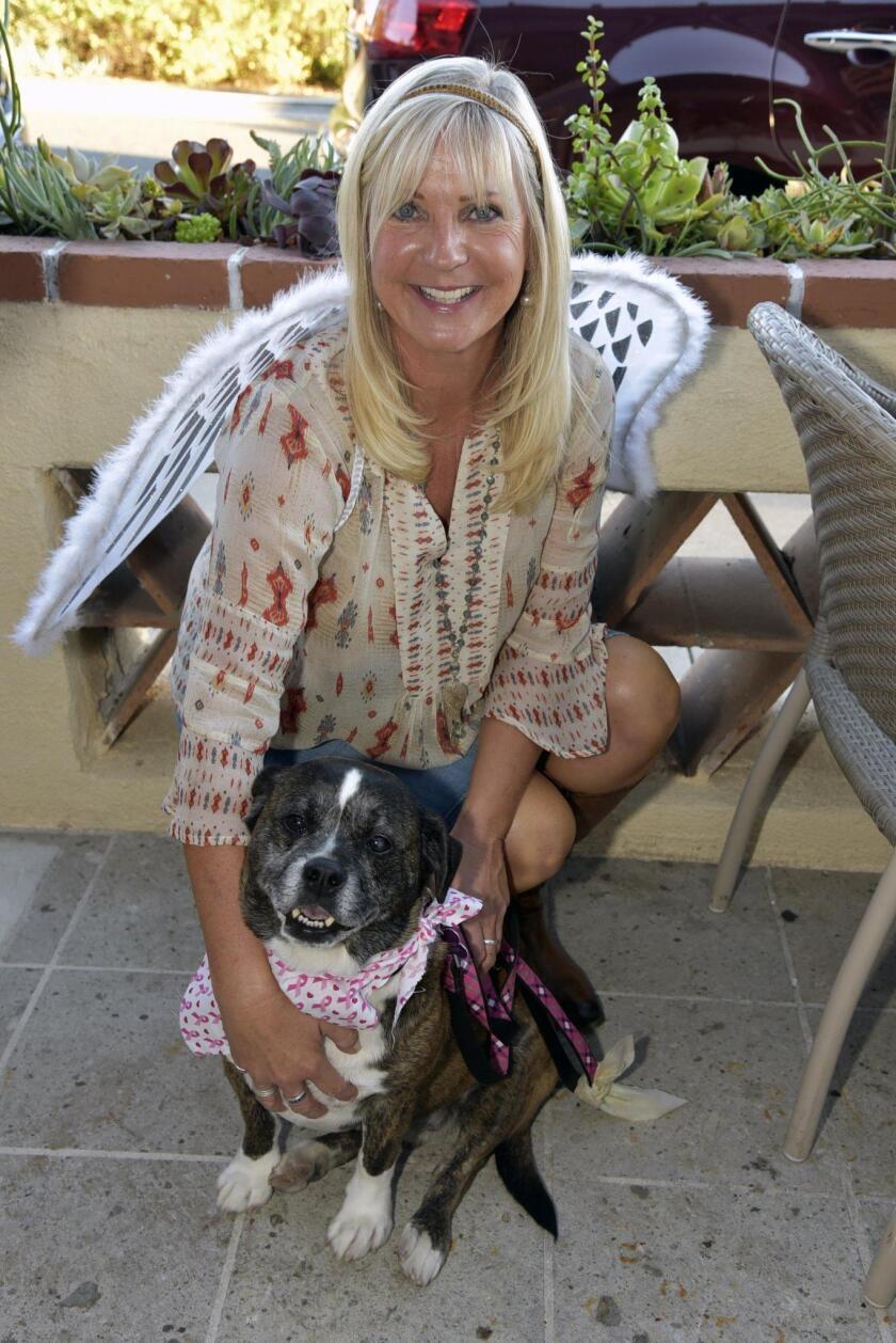 Amy Bramy with Diego