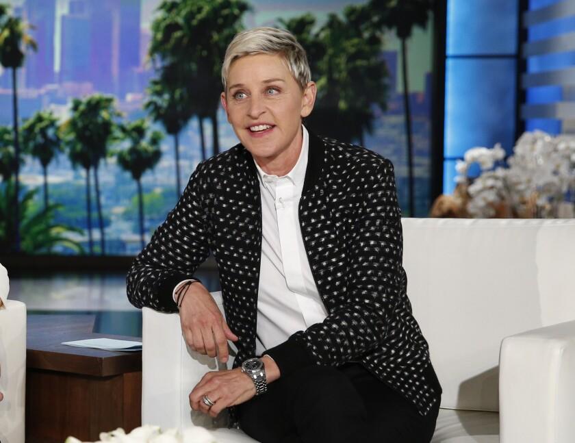 En esta fotografía De archivo Ellen DeGeneres