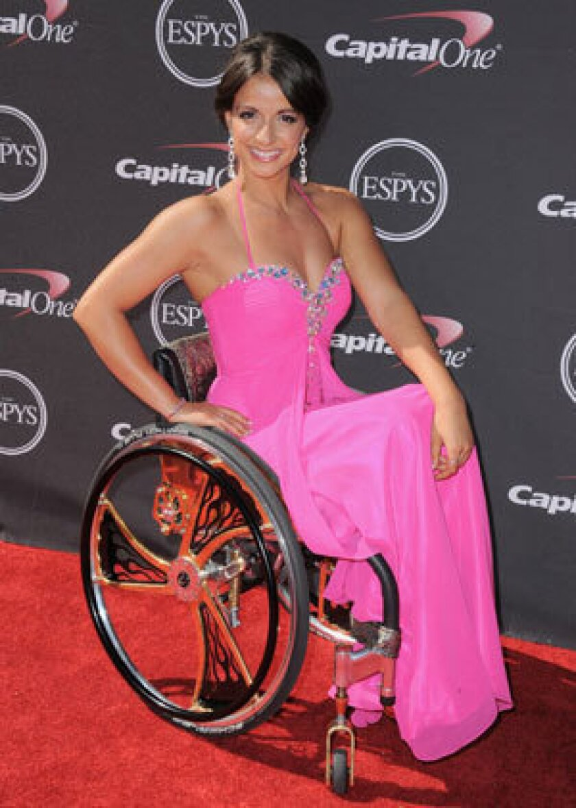 Paralyzed U.S. swimmer banned from Paralympic world championships