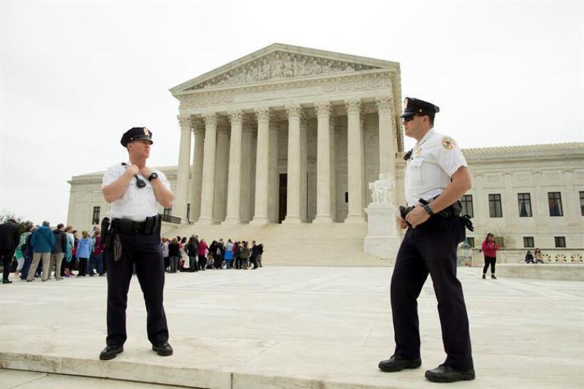 Fachada de la Suprema Corte de Justicia de Texas. EFE/Archivo