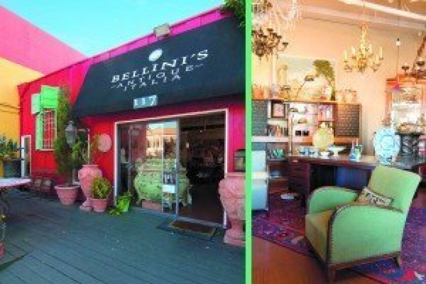 Bellini's Antique Italia offers 17th century to mid-20th century modern Italian antiques, as well as contemporary décor pieces. Courtesy photo