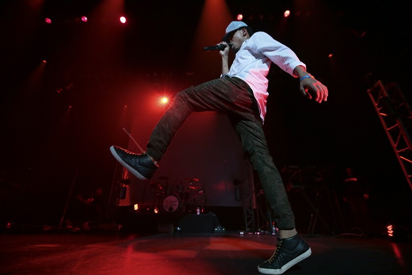 Chance the Rapper performs at Club Nokia on Dec. 29, 2013. REVIEW: Chance the Rapper trips out at Club Nokia